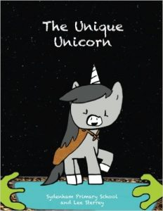 The Unique Unicorn Book Cover Image
